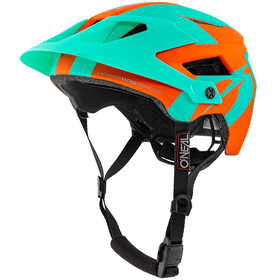 ONeal Defender 2.0 Helmet SLIVER orange/teal